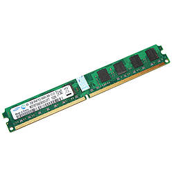 Память 2Gb DDR2, 800 MHz, Samsung, CL6 (M378T5663EH3-CF7)