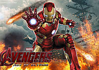 Вафельная картинка Железный человек 3