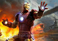 Вафельная картинка Железный человек 4