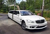 Лимузин Mercedes W221 S63 белый