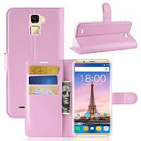 Чехол-книжка Litchie Wallet для Oukitel K5000 Светло-розовый, фото 1