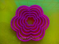 Вырубка кондитерская цветок
