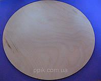 Деревянная Круглая подложка 30 см (1 шт.)