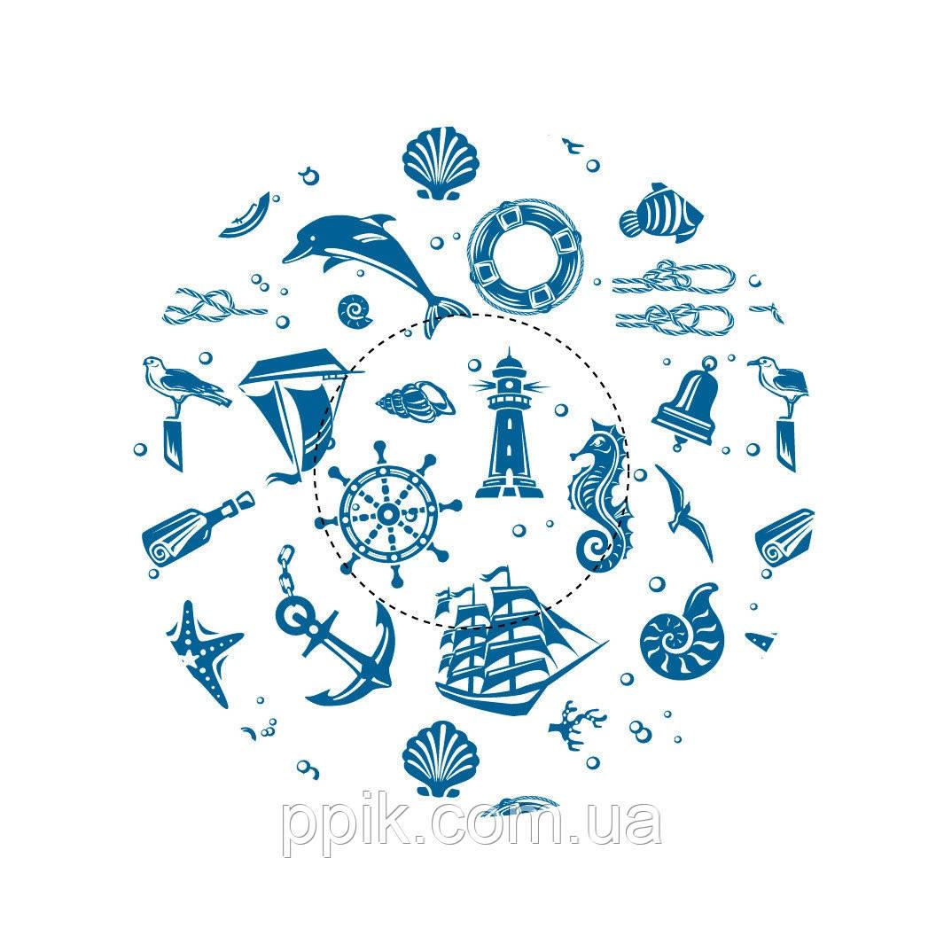 Капсулы для кексов Морская тема, фото 1