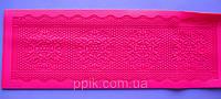 Коврик кондитерский силиконовый для айсинга Букет цветов, фото 1