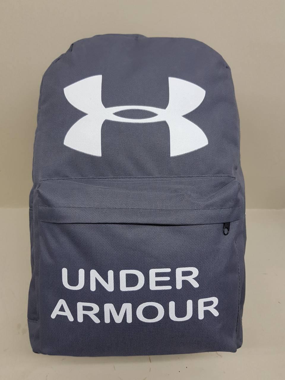 Спортивный рюкзак Under Armour (Андер Армор), серый цвет