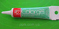 Краситель гелевый verde prato зеленый газон Modecor