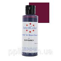 Краситель для аэрографа AmeriColor Бордовый 128г, фото 1