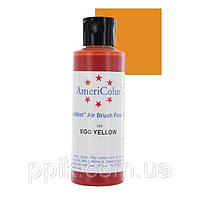 Краситель для аэрографа AmeriColor Яично-Желтый 128г, фото 1