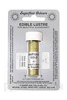 Краска Мерцание Sugarflair Античное золото