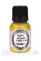 Краска металлический блеск Rainbow Dust Золото