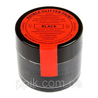 Краска металлический блеск Sugarflair Черный