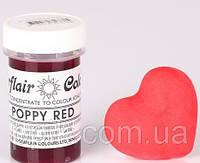 Краска паста Sugarflair Красный мак, фото 1