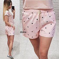 Стильные женские шорты! Цвет: розовый, арт 066