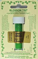 Краска сухая Sugarflair Зеленое яблоко