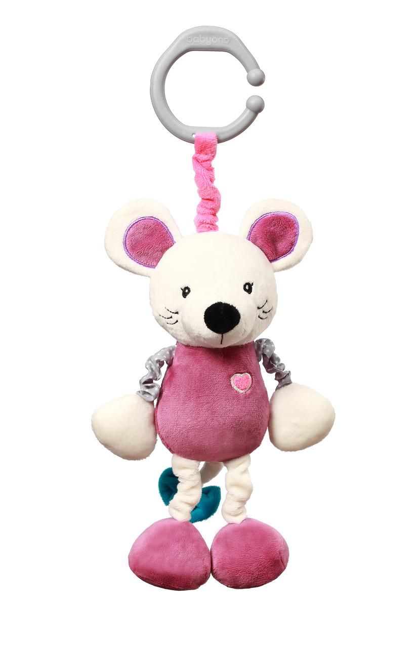 Вибрирующая игрушка-подвеска Мышонок Сил 28 см BabyOno