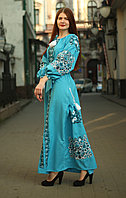 """Вышитое платье """"Лорен"""" PJ-0011-B"""