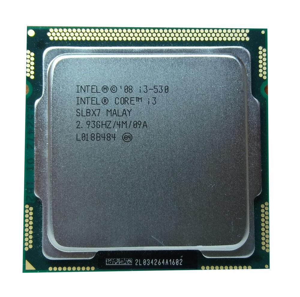 Процессор Intel Core i3 530 2,93GHz/4M/1333 (SLBX7) s1156, tray