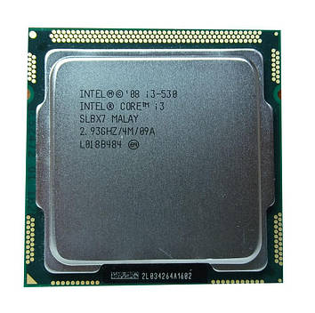 Процессор Intel Core i3 530 2,93GHz/4M/1333 (SLBX7) s1156, tray