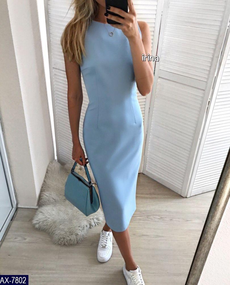 Платье AX-7802 (S-M, M-L)