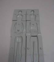 Молд кондитерский пластмассовый Мужчина 3D