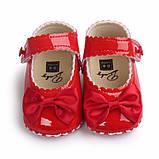 Лаковые туфельки-пинетки 13см, 11см., фото 3