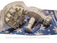 Набор кондитерских форм для мастики Снежинки