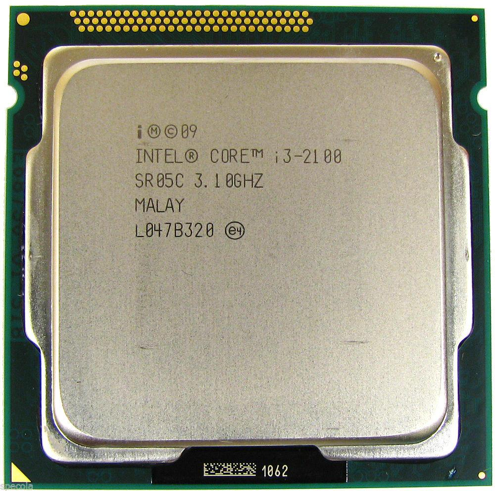 Процессор Intel Core i3-2100 3.10GHz/3M/5GT/s (SR05C) s1155, tray