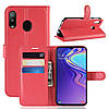 Чехол-книжка Litchie Wallet для Samsung Galaxy M20 Красный