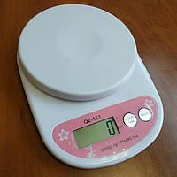 Весы Electronic Kitchen Scale QZ-161 точные электронные кухонные до 5 кг