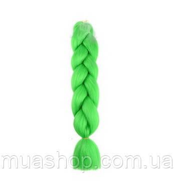 Канекалон (неоново-зелёный) 65*130 см, фото 2