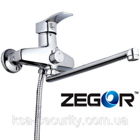 Смеситель для ванны ZEGOR BBS7-А279 (Зегор), фото 2