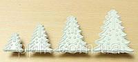 Набор форм оттисков елки из 8 шт, фото 1