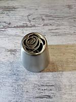Насадка бесшовная кондитерская метал. Роза 4