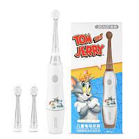 Детская звуковая электрическая зубная щетка SEAGO EK-2 White (Tom and Jerry)