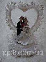 Несъедобная свадебная статуэтка 14 см