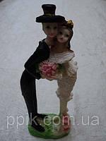 Неїстівна фігурка для торта на весілля 17 см