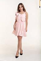 Платье K&ML 494 розовый 46