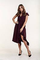 Платье K&ML 493 бордовый 46, фото 1