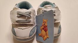 Кроссовки детские с Винни Пухом 6-9 месяцев