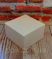 Пенопластовый Фальш-ярус Квадрат 20 см 1 шт.