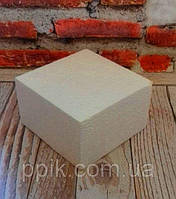 Пенопластовый Фальш-ярус Квадрат 30 см 1 шт.