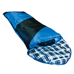 Спальный мешок Tramp NightLife индиго/черный L