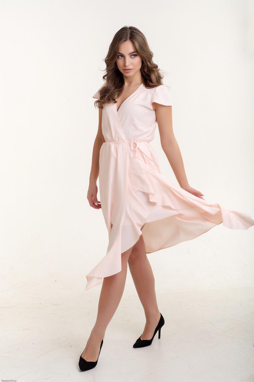 Платье K&ML 493 розовый 44