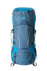 Туристический рюкзак  Sigurd 60+10 синий