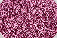 Посыпка сиреневые шарики 2 мм 50 грамм