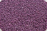 Посыпка фиолетовые шарики 2 мм 50 грамм