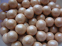 Посыпка шарики Винтажный жемчуг 7 мм, 50 грамм
