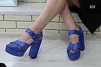 Босоножки женские на устойчивом каблуке RS 1772 разные цвета, фото 1