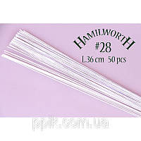 Проволока белая (Hamilworth) № 28